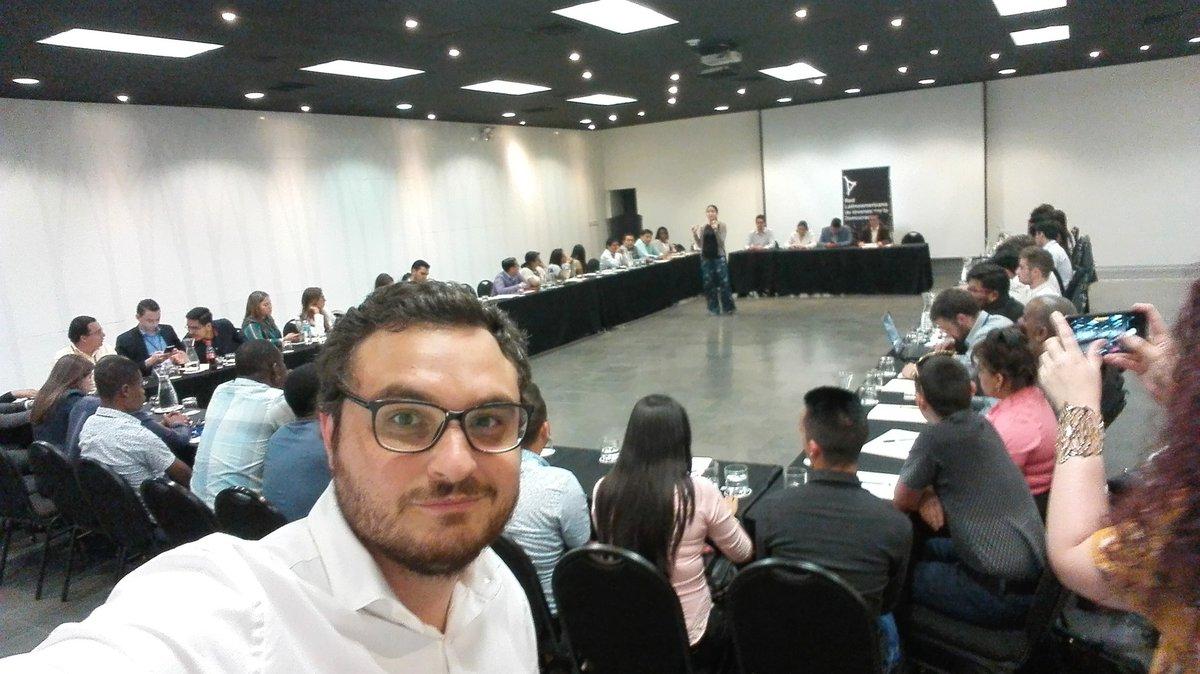 Continuamos en el VI Foro de @JuventudLAC en Lima #JuventudyDemocracia  Excelente experiencia!!