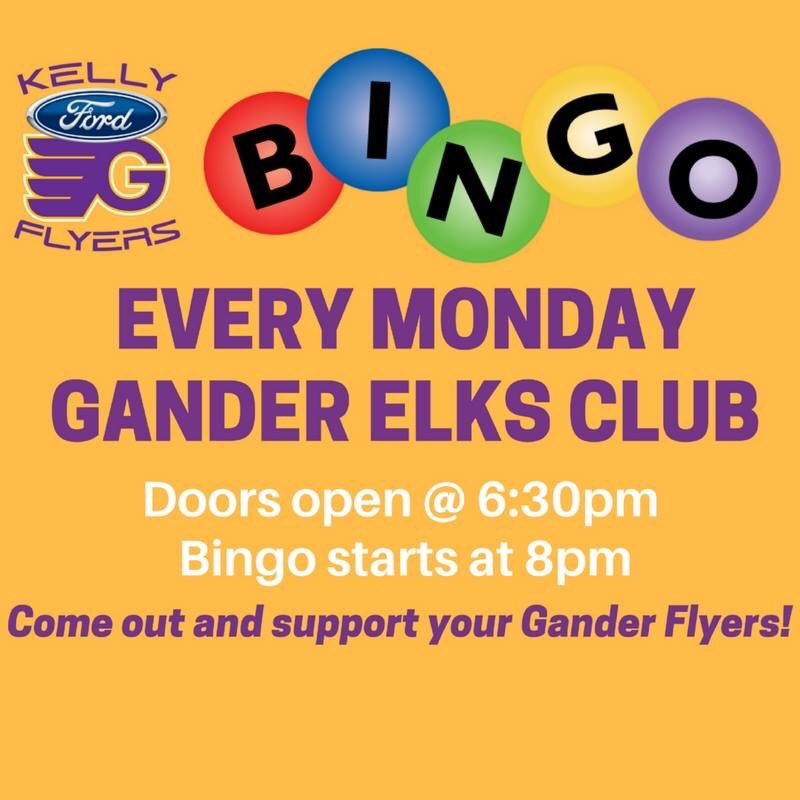Kelly Ford Gander >> Gander Flyers On Twitter Kelly Ford Gander Flyers Bingo
