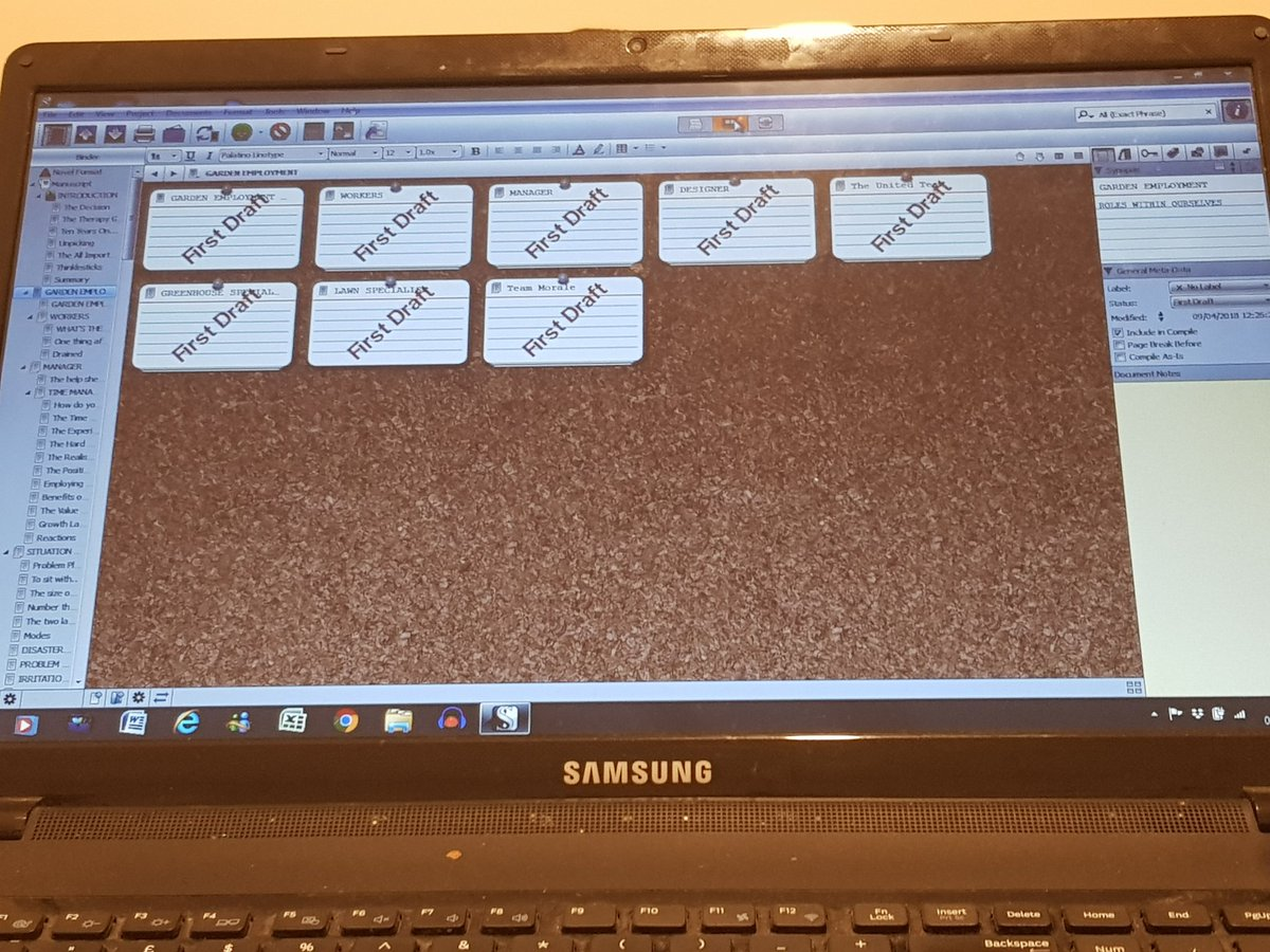 So relieved to see those First Draft Stamps on that section of the book! #deadlines #amwriting #scrivener #corkboard #stamps<br>http://pic.twitter.com/72rooV299L