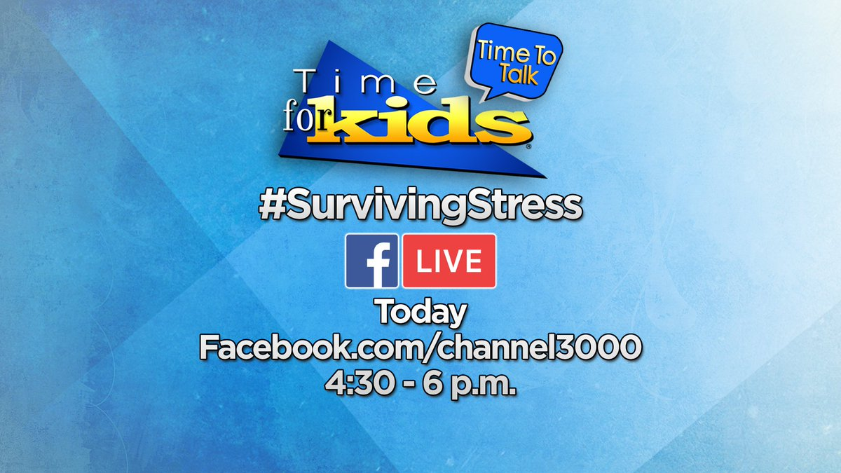 LIVE talk SurvivingStress News Dannika Lewis hosting mental
