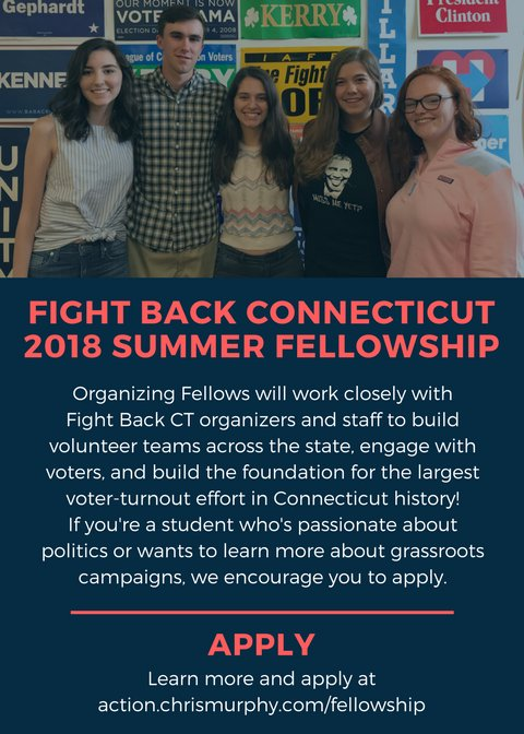 We're looking for our newest class of #FightBackCT organizing fellows. Learn more & apply at https://t.co/mvDU1c830J https://t.co/Y1aS8CpTYN