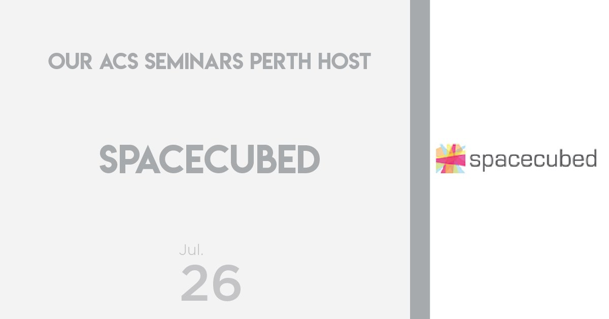 test Twitter Media - Announcing our host for the ACS Seminars in Perth! We were lucky enough to hear from them last year, this year they are welcoming us into their incredible co-working space 🙌 @space3ed   To learn more & register visit their profile here: https://t.co/qGoao5hFt5 #ACSSeminars https://t.co/MItuGAW9L8