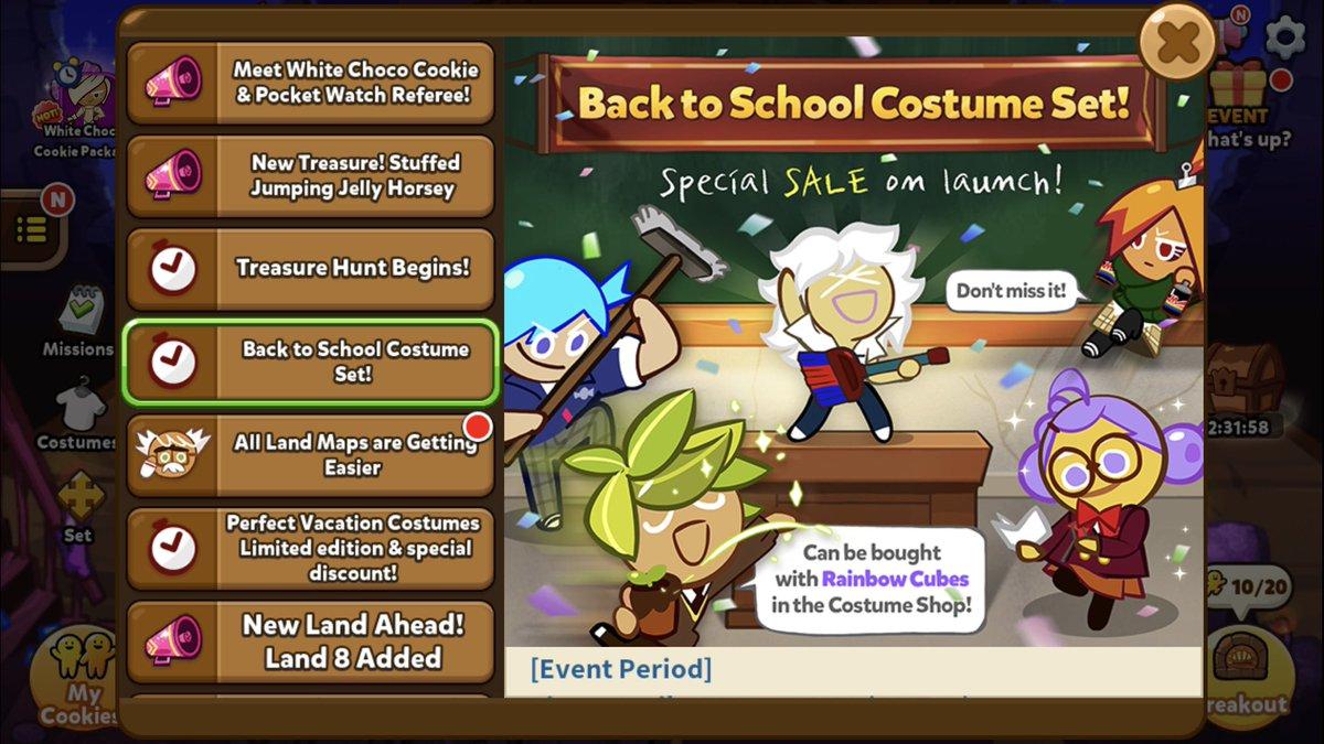 (Ovenbreak) Back to School Costume Set w...