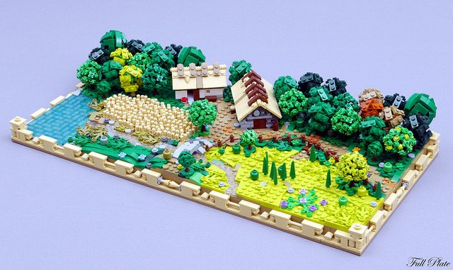 &quot;Fifty shades of green&quot; | Spend some time on the farm with this excellent #LEGO #Microscale scene from Emil Lidé -  https://www. brothers-brick.com/2018/04/09/fif ty-shades-of-green/ &nbsp; …  | #Diorama #Models<br>http://pic.twitter.com/bjEVWagm4b