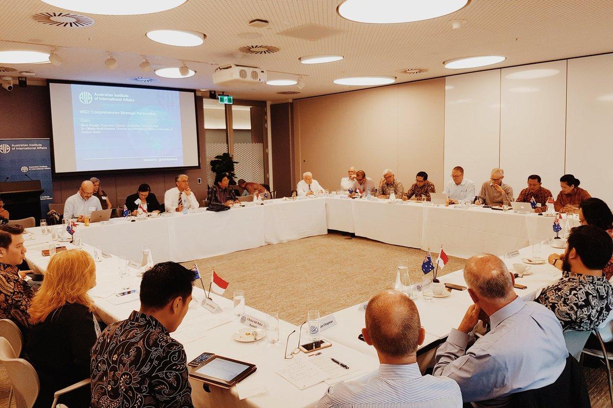 Talking recommendations for greater collaboration between #Indonesia & #Australia at #IAD2018 @Greg__Earl @GregFealy @A_JParker @SecurityScholar @kvspringer @BMVenerabilis @brodiemcculloch @Lynley_Marshall @caitebyrne @na_dirs @pjvermonte @TimMarbun @WidjajantoAndi @Senator_CFW