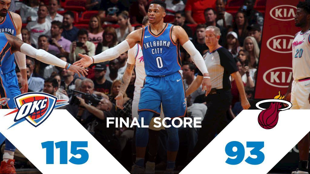 Heading home with a W.  #ThunderUp https://t.co/utD2GaIxeh