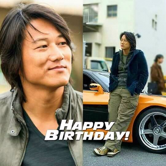 Happy birthday sung Kang