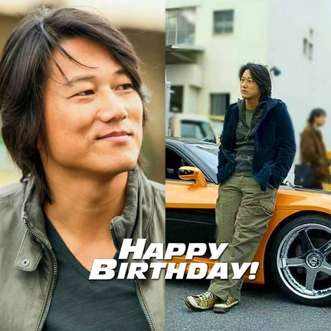 Happy Birthday Sung Kang   ;