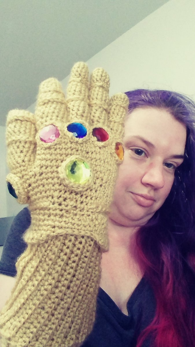 Joi is crocheting ALL the things on Twitter: