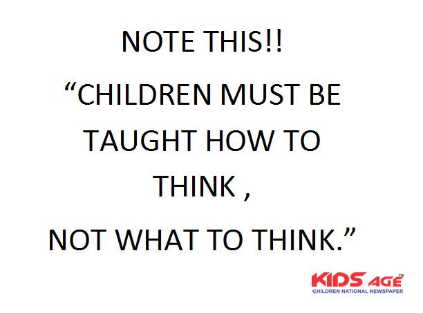 Kids Age On Twitter Best Thought Of The Day Kids Kid Kidsage Kidsage Children Childrens Child Care Learning Learn Teach Thought Thoughts Quotes Quote Quoteoftheday Kidscare Childcare Kidsagenewspaper Kidsagethought Https T Co