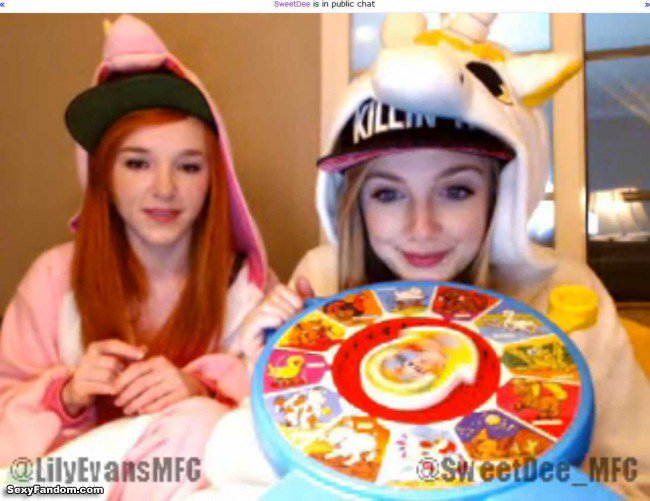 Sexy Fandom: Sweet Dee and Lily Evans Unicorn Party...