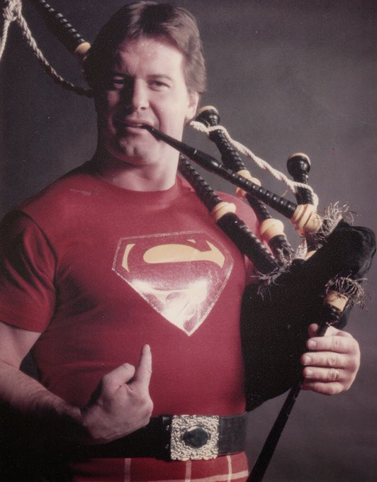 Happy birthday to the ultimate bad ass, Rowdy Roddy Piper! Look at this beast: