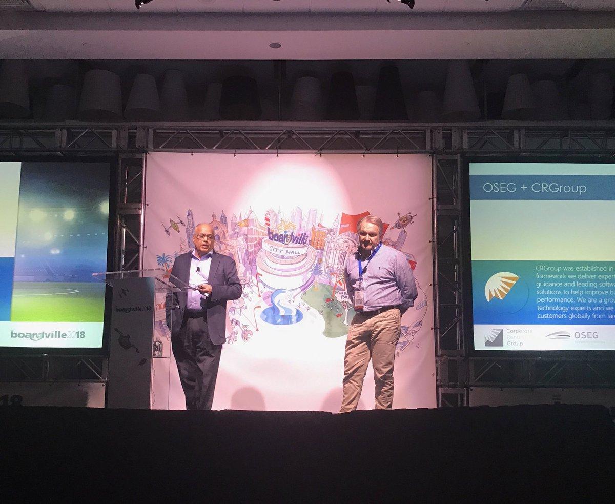 From starters to superstars in 180! Dr. Vijay Jog and David Porter @OSEG_Media #BOARDVille2018 #BOARDVilleVegas #BOARD<br>http://pic.twitter.com/MDEwJhk0Na