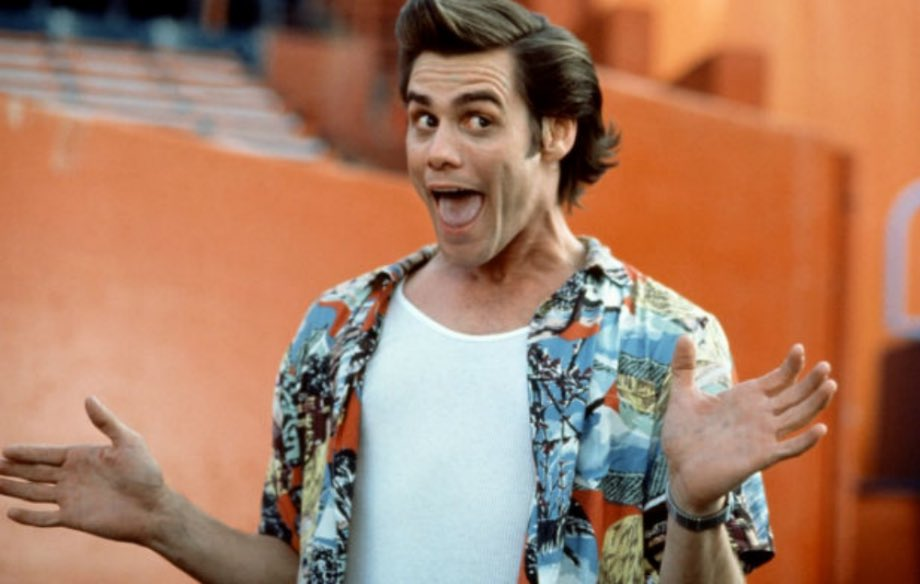 It's funny how in 2018 Ace Ventura is an unironic style icon.