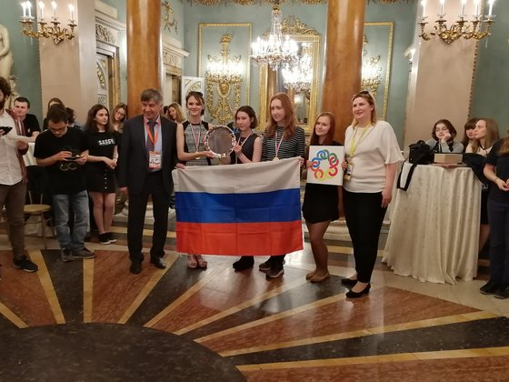 The Russian team has won at the European Girls' Mathematical Olympiad