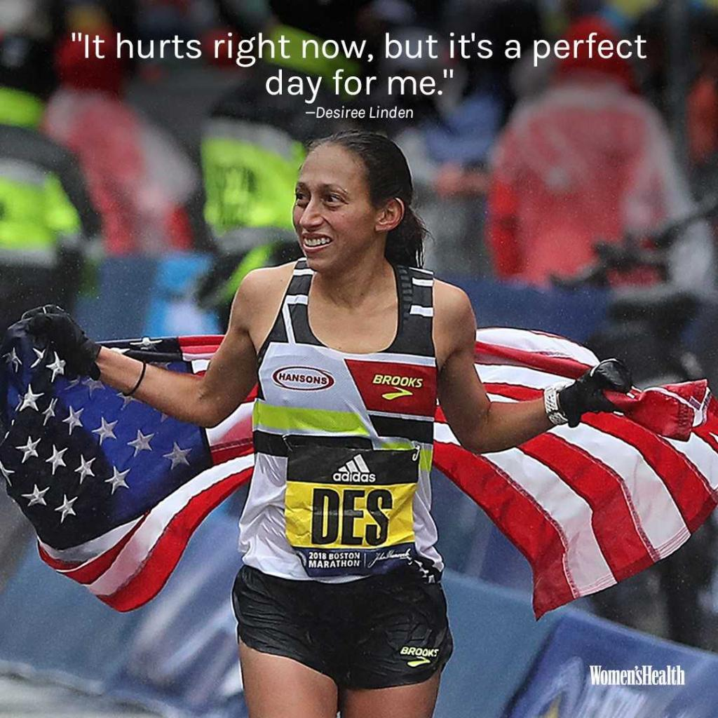 Women's Health's photo on #BostonMarathon