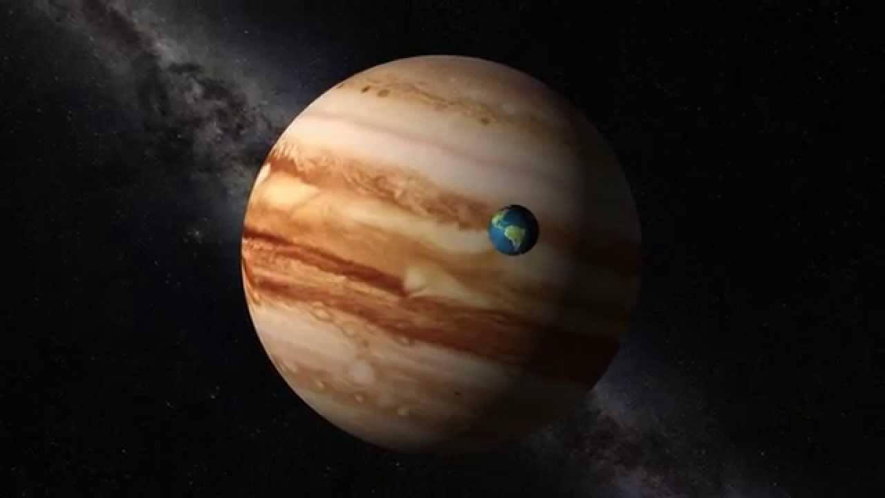 юпитер и земля планета фото издатели учли чрезмерный