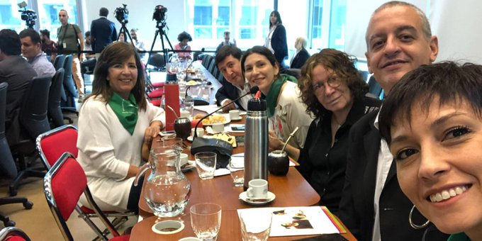 #LegalizacionAbortoYa Photo