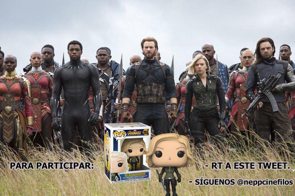 #SORTEO  #VengadoresInfinityWar RT al tweet de abajo para participar.👇