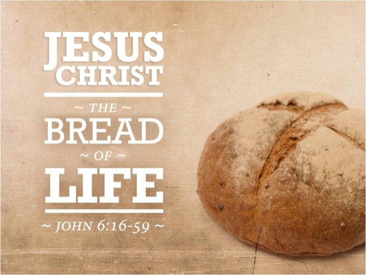 "James Martin, SJ on Twitter: ""Gospel: What does it mean that Jesus is the  ""Bread of Life""? 1) Like bread, a staple food in his day, Jesus is  essential. 2) His word"