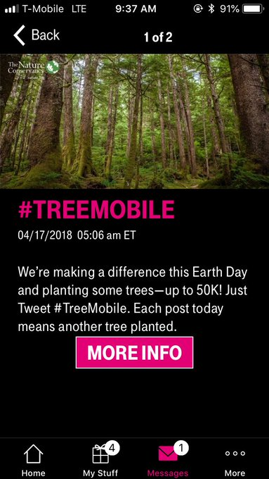 #TreeMobile Photo