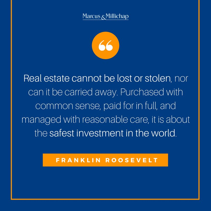 Lets Talk About Real Estate For Moment >> Marcus Threats Ccim On Twitter Real Estate Is The Safest