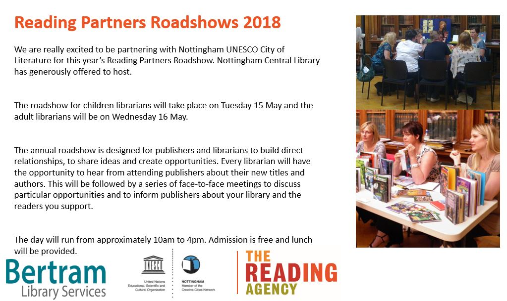 Are you a #librarian working in or around the #Midlands? You are invited to our free, regional roadshow in May. There are limited spaces so comment below if you are interested:<br>http://pic.twitter.com/1ZJ1B9wOaK