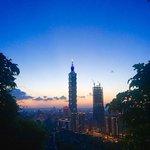 ⛰️elephant mountain #elephantmountain #taipei101 #nightview #taiwanheartofasia #triptotaiwan #vacation