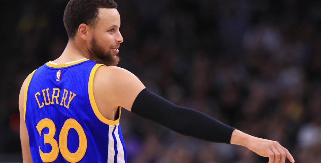 The top five best-selling jerseys in the NBA:  1 - Stephen Curry 2 - LeBron James 3 - Kevin Durant 4 - Giannis Antetokounmpo 5 - Kyrie Irving  #DubNation