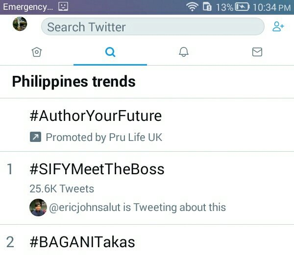 #SIFYMeetTheBoss Photo