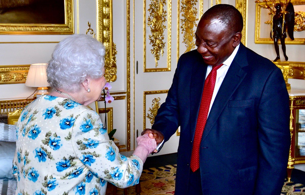 South African Government On Twitter President Cyril Ramaphosa Pays