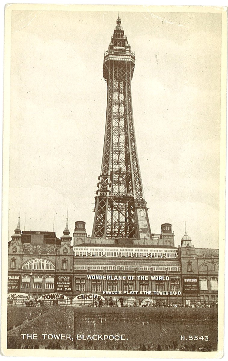 Da kdjWWsAEk1tb - Blackpool tower at 125