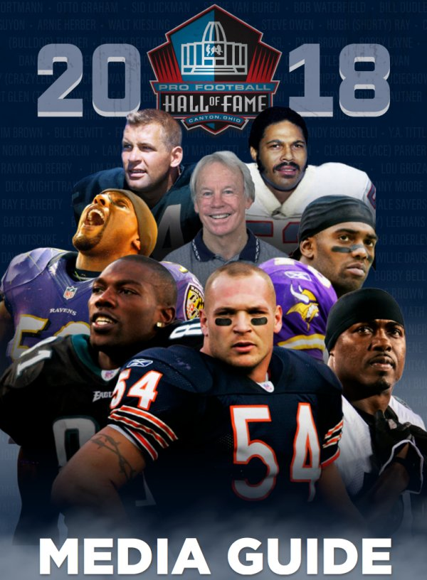 Our 2018 Media Guide is now available! #PFHOF18  Click to view: https://t.co/BzlNVcM494