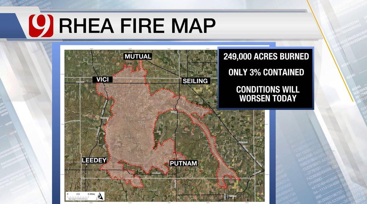 Rhea Fire Map.Extreme Fire Danger Again Toda Cassieheiter Cassie S Tweet
