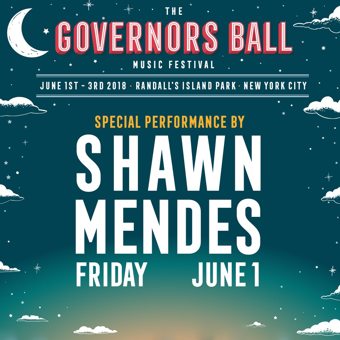 Gov Ball June 1st. See you there x