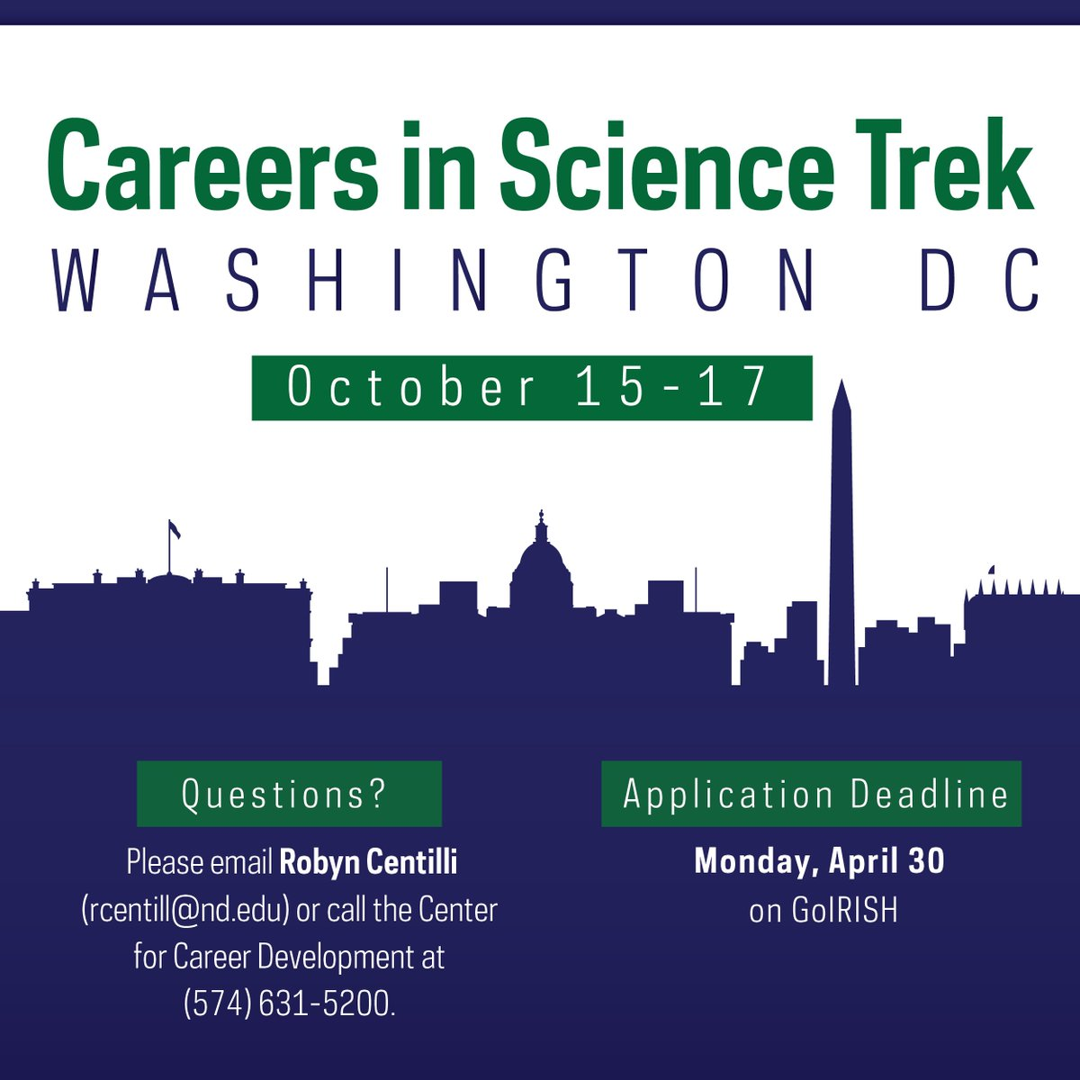 ND Center for Career Development on Twitter: