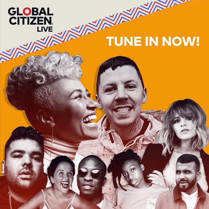 #GlobalCitizenLive Photo