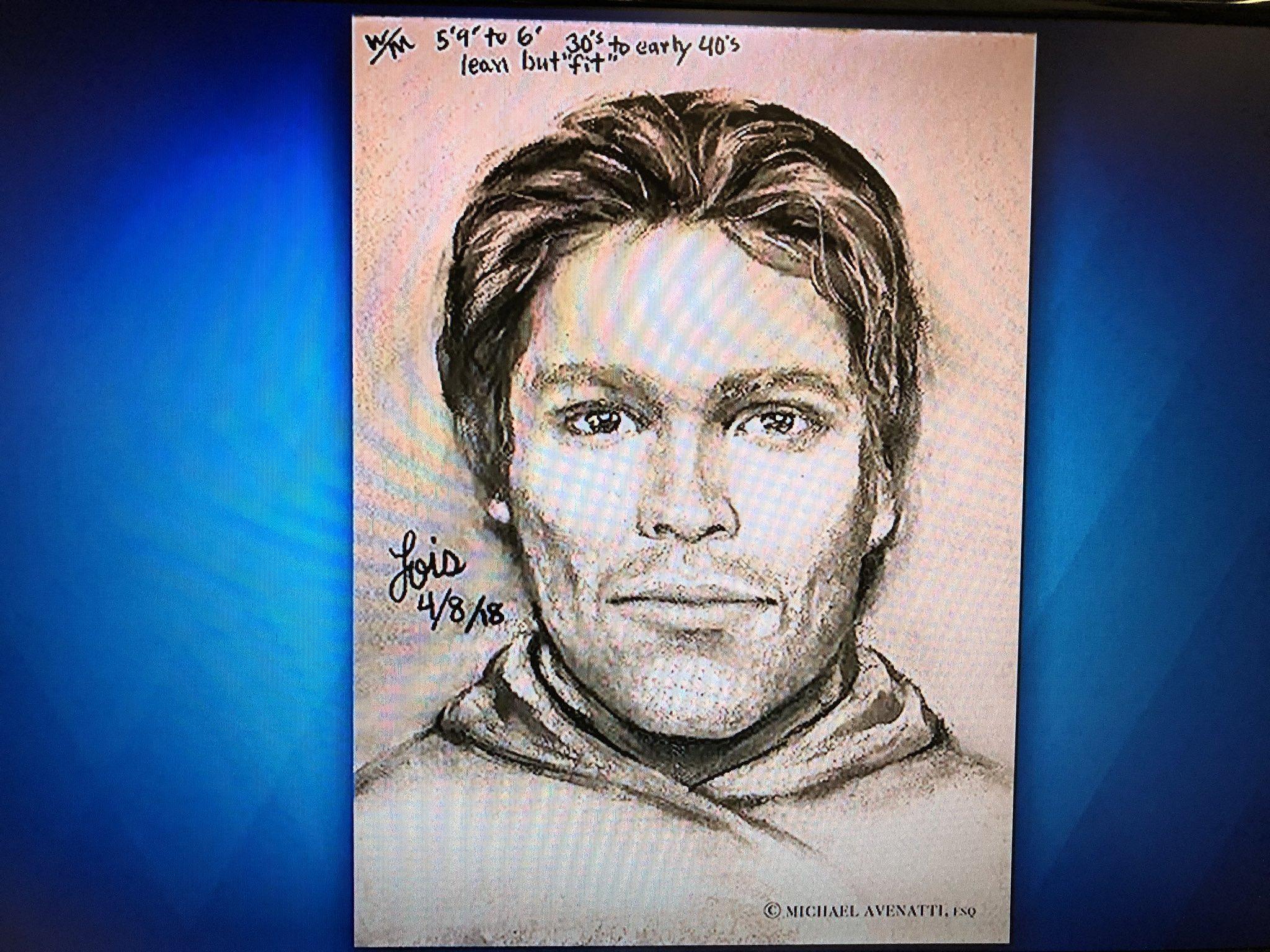 Stormy Daniels reveals sketch of man who allegedly threatened her over Trump story. https://t.co/lMJsoPkQAd https://t.co/zivJviJesg