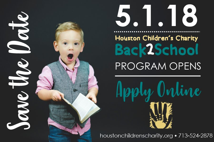 #savethedate for our #back2school program opening! Applications will be available online in English and Espanol beginning May 1st! <br>http://pic.twitter.com/ngLPPX8GoH