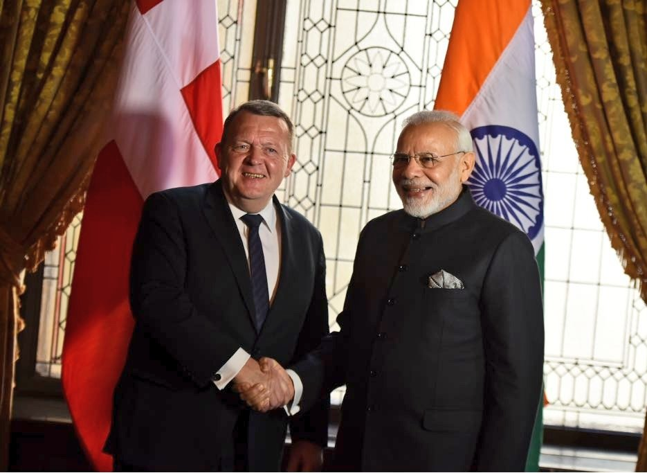 Glad to have met Prime Minister Lars Løkke Rasmussen of Denmark. Our talks were productive and extensive, aimed at strengthening relations between our countries. @larsloekke