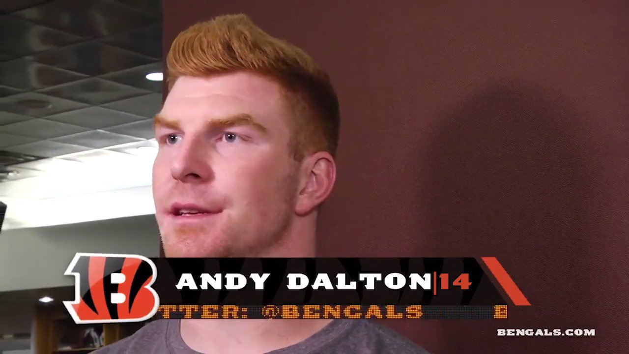 The #Bengals offense is going through an overhaul.  @andydalton14 weighs in on the new changes: https://t.co/sMphTrHQBt
