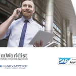 #SAPAppCenter App of the Week: Simplify your approval process and get 8 to 10% direct cost savings with mWorklist - Mobile Universal Approvals by @Innovapptive. Free trial at https://t.co/GvuxZuaRyS