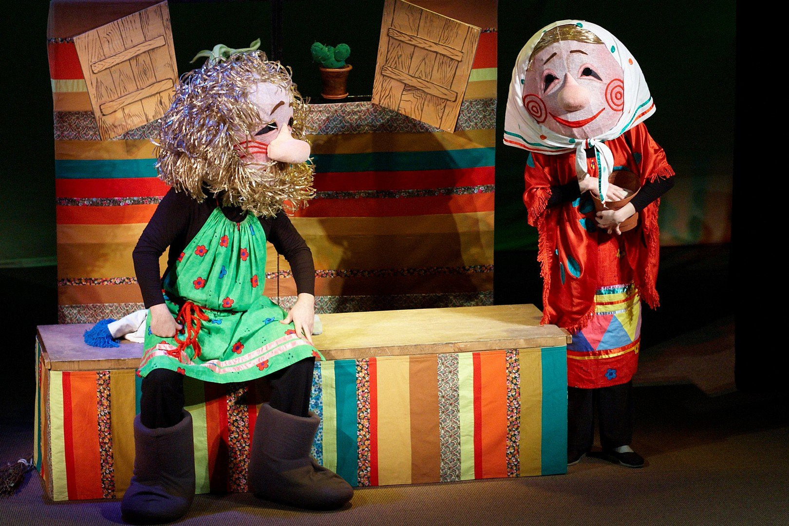 иногда кукольный театр картинки к сказке колобок ушёл головой большой