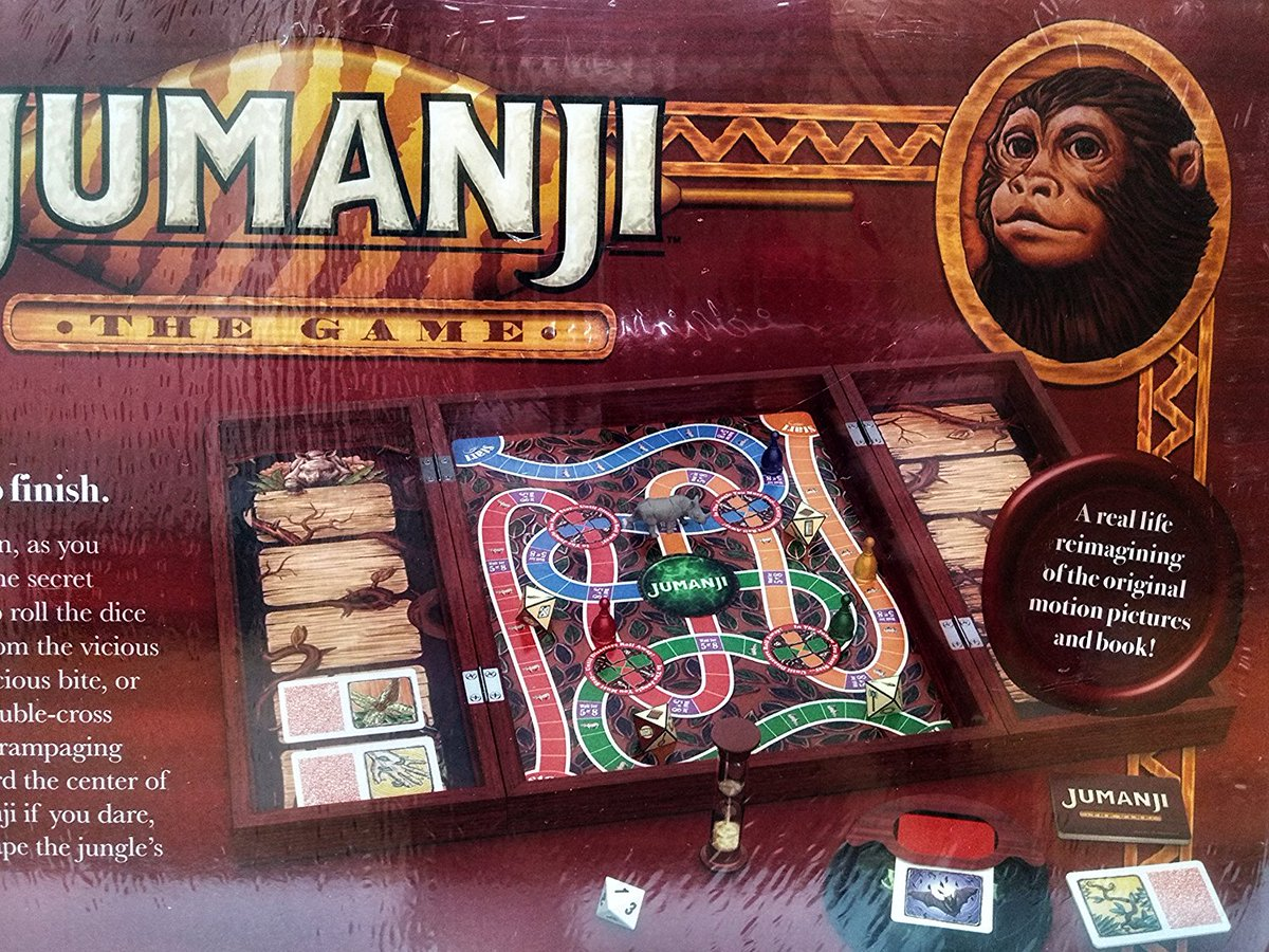 The Rpf On Twitter Jumanji The Game In Real Wooden Box Httpst