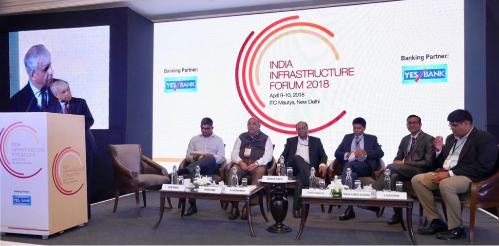 YES BANK's Pawan Agrawal shares his thoughts on alternative sources of Infra financing at #IndiaInfraForum, New Delhi.