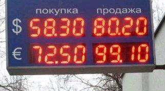 Курс євро в РФ пробив позначку в 76 рублів уперше з травня 2016 року - Цензор.НЕТ 1258