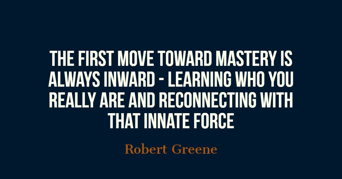 Dr Maria Phalime On Twitter The First Move Toward Mastery Is