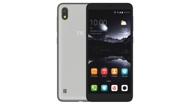 ZTE A530 Smartphone Launched in China with 18:9 Screen Ratio