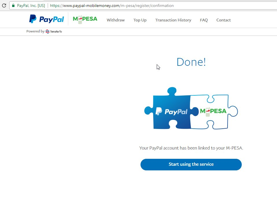 mpesa home page