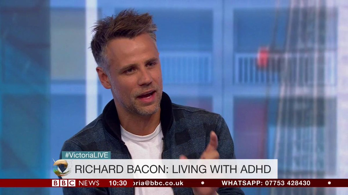 'I want to dispel the myth about ADHD - that it's all made up.'  TV presenter @richardpbacon, who was diagnosed at the age of 42, shows us his brain scans.